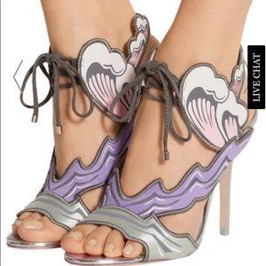 Women's Purple Heaven Tempest Orchid Satin Sandals